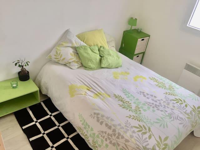 Chambre dans un charmant appartement T3