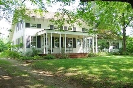 Historic Farmhouse on 100 acres - 4 bdrm/2 bath