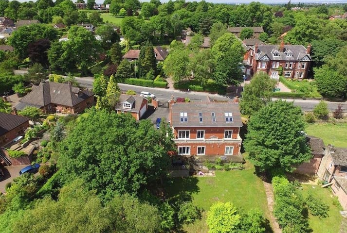 Marple, Cheshire. Fabulous five bedroomed house.
