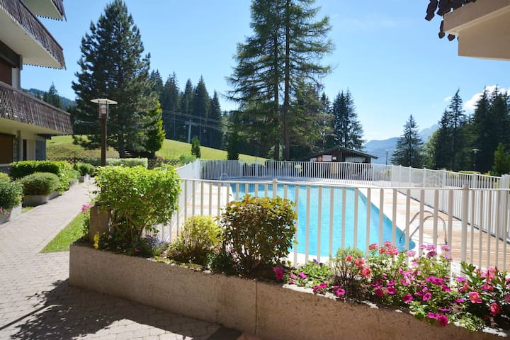 Grizzli- 4 People - SWIMMING POOL in summer.