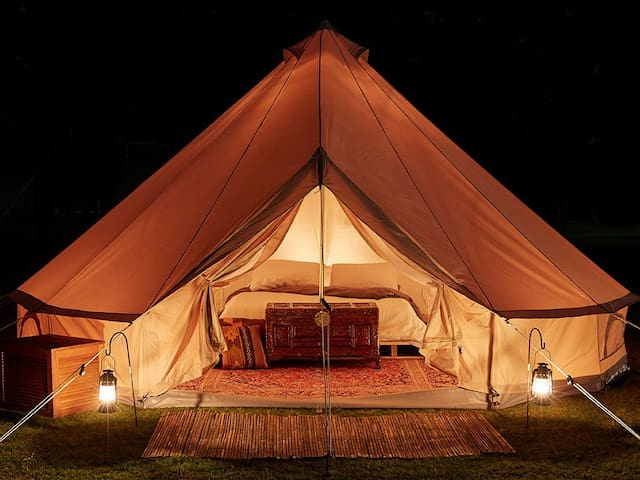 Ànima Glamping Montseny Bell Tent 1