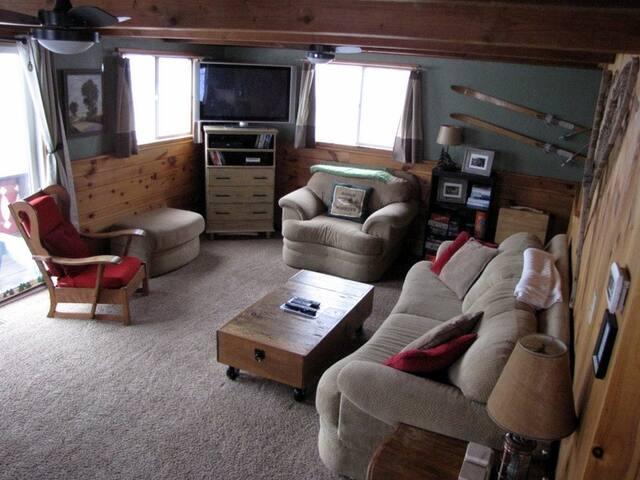 Super comfy main level living room