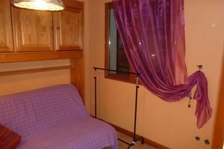 Chambre en montagne dans la nature - Faucon-de-Barcelonnette