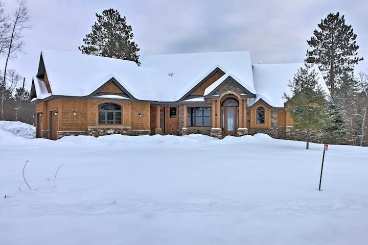 NEW! Lakefront Giants Ridge Retreat Near Ski/Golf!