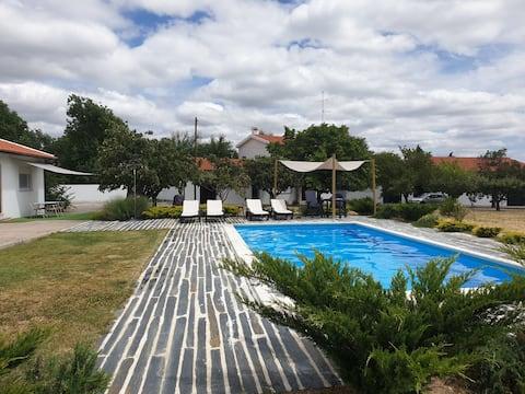 Casa 5 pessoas + piscina privada | Douro Coriscada