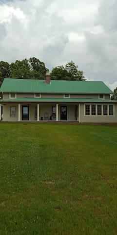 The John L. Wright Farmhouse, Stearns, KY.
