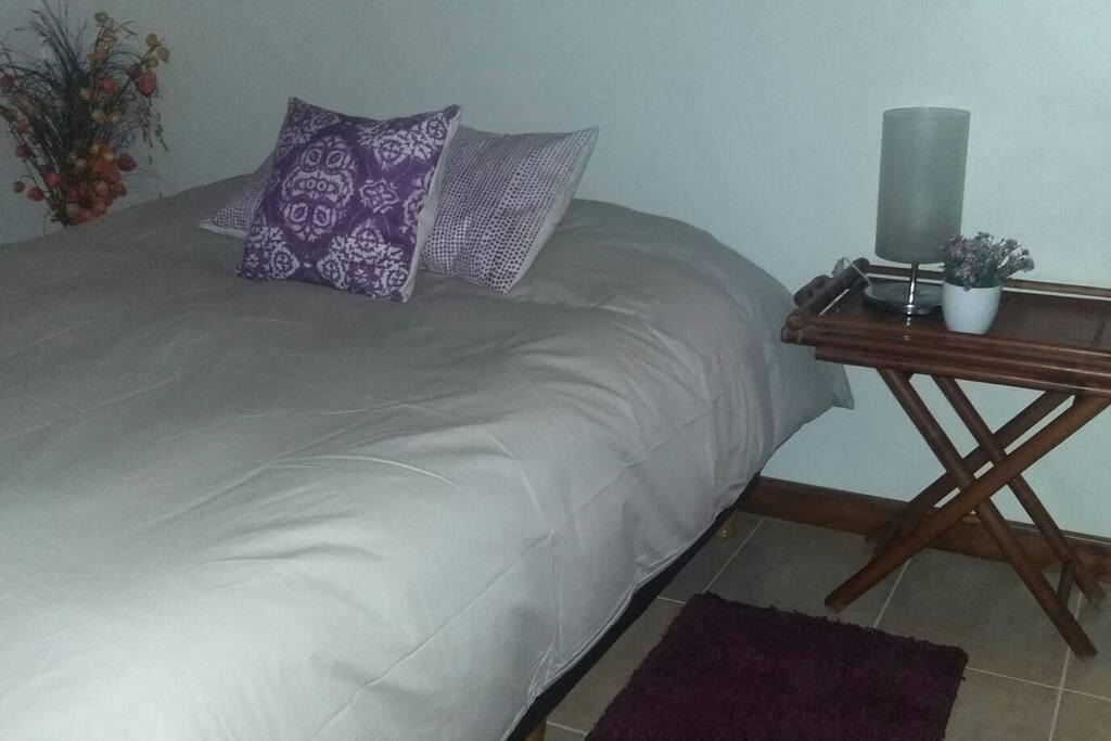 Una cómoda cama king size (o dos 80cm)