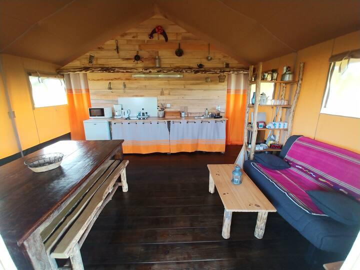 Alpagaterie  : safari lodge