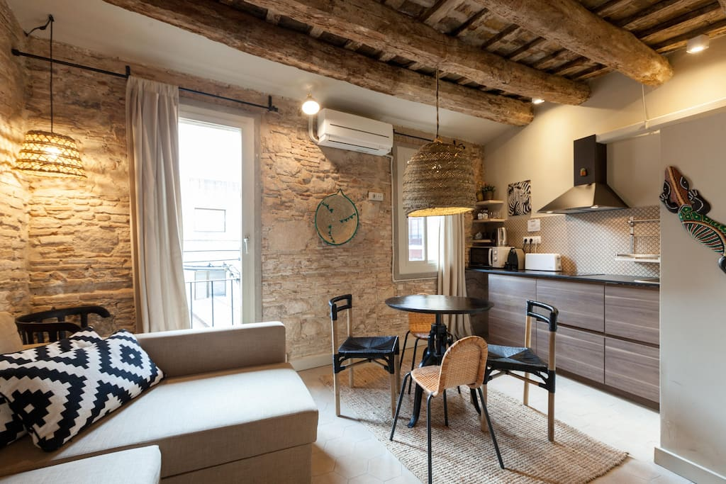 Loft sympa en centre ville lofts louer barcelone - Chambres d hotes barcelone centre ville ...