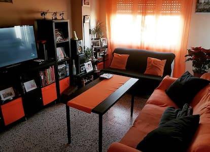 Apartamento doble de matrimonio  en  casa de Javi