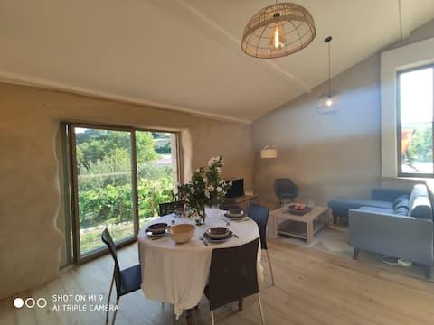 Pondok ideal untuk 1 percutian Alam Semula Jadi di Ardèche 4/6 P