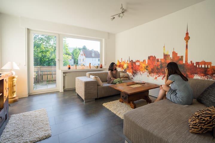 The Spicy Apartment am Fuße des Hermanns