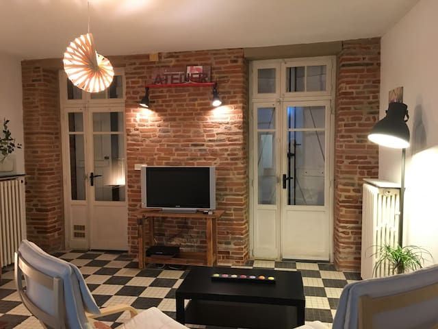 Charmant Appartement Centre Ville - Montauban - Apartamento