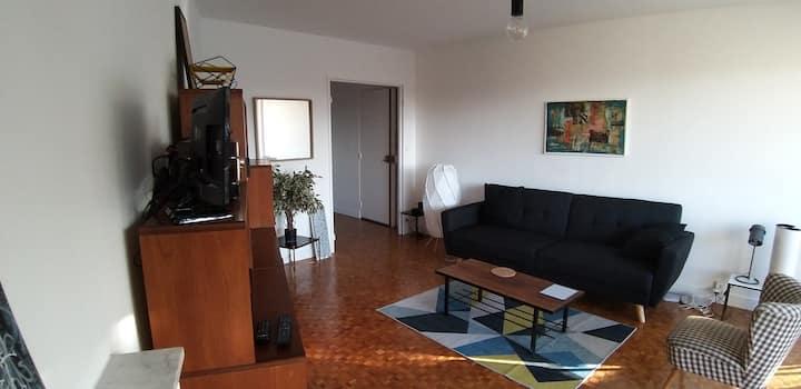 Appartement style Vintage à deux pas de Paris
