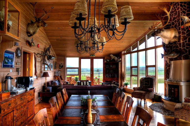 Eyjar Luxury Lodge, east Iceland - Breiðdalshreppur - Villa