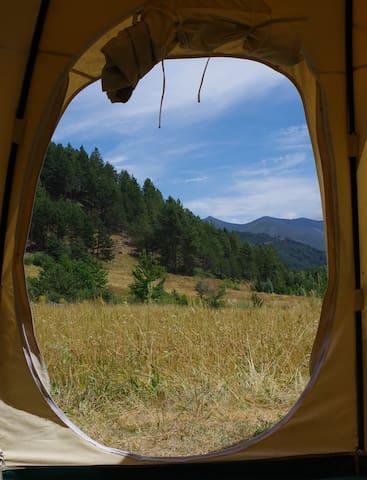 Lotus Belle Sueno Verde stunning mountain Getaway. - Boñar - Yurt