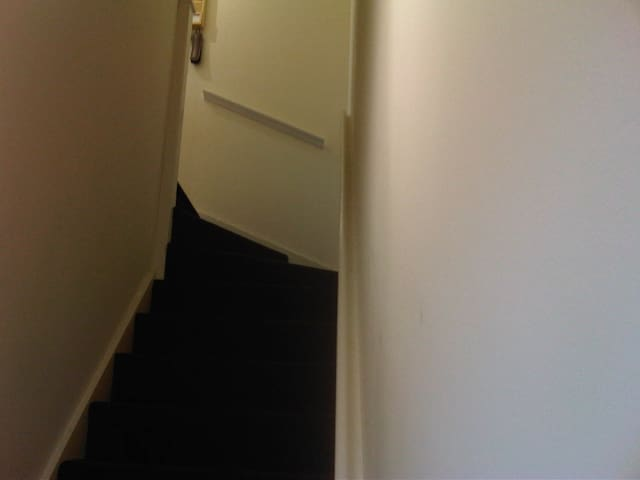 stairs up to flat from front door