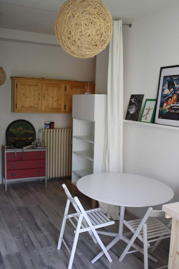 grand studio calme sur Saint-Pierre de Chartreuse