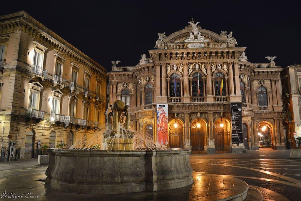 Square Theatre Massimo, Catania