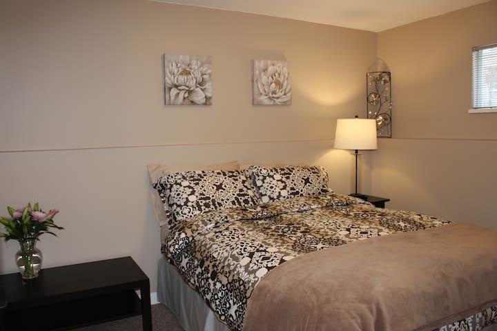 Bright, Clean 2 Bedroom Suite in Coquitlam