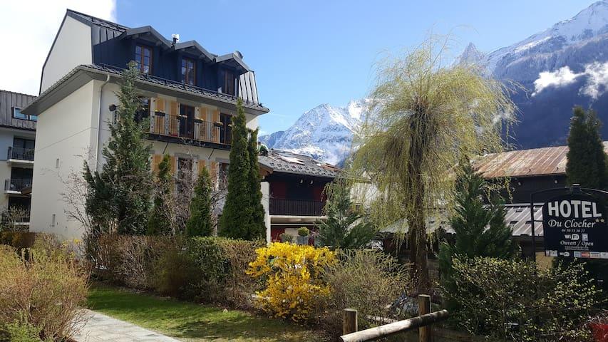 Chambre dans une Maison Hotel - Chamonix-Mont-Blanc - Bed & Breakfast