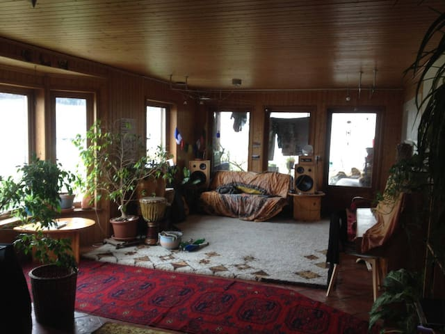 Private Room in house with garden 15' outside Bern