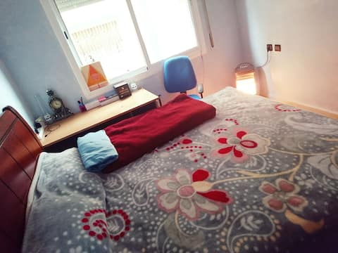 Lovely Bedroom Waiting for You to Make it Home!
