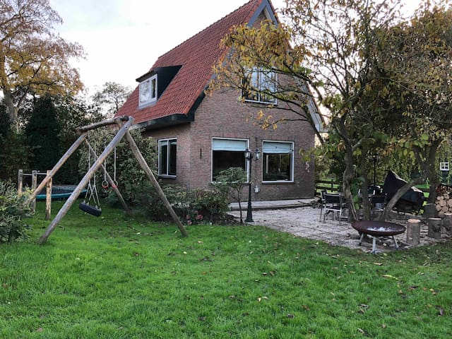 Private holiday cottage at river Vecht