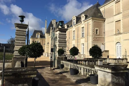 1 BEDRM 5 STAR CONDO IN HISTORIC RENOVATED CHATEAU - Vernantes
