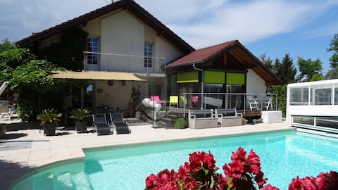 1 Bedroom Apartment 35m2 in villa