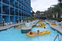 Another picture of the outdoor lazy river ride