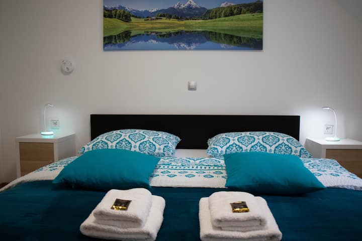 Amazing room amid mountains and forests near Bled*