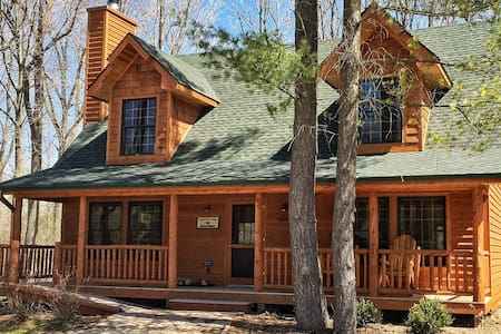Lonnhuset Lodge Luxury Cabin w/Pool - Saugatuck