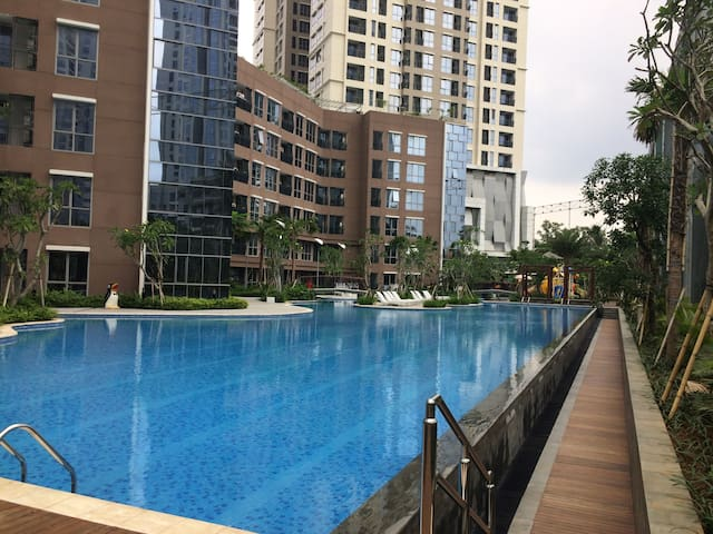 2BR Apartment in The Heart of Jakarta. - Jakarta - Flat