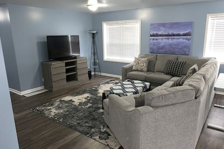 Newly Updated Smart Home 1 mile from ND & Eddy St