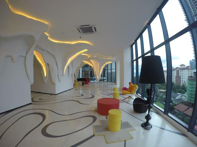 Tower 3 lobby