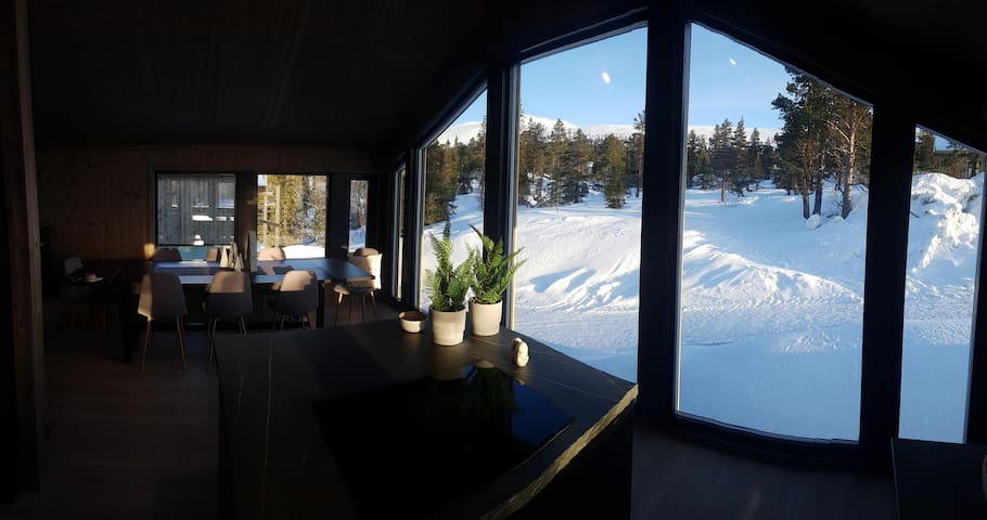 New, modern, cosy hut close to Norefjell Ski & Spa