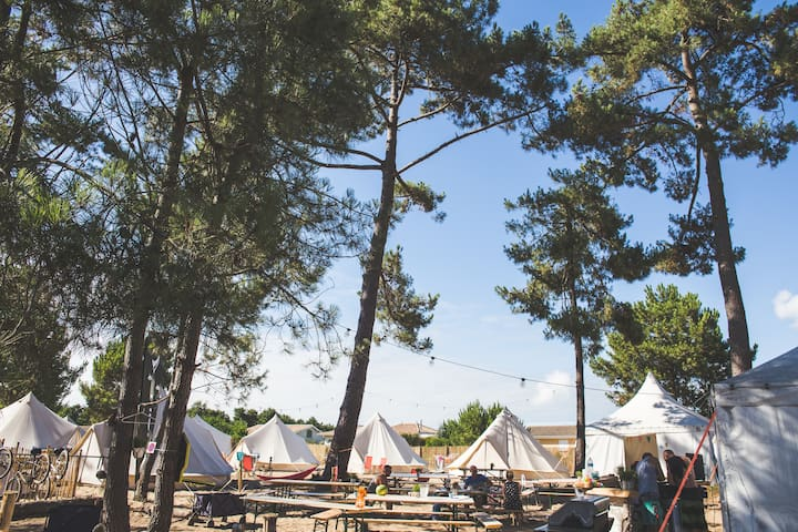 Tipi resort, Pine Beach Paradise - Vendays-Montalivet - Tepee