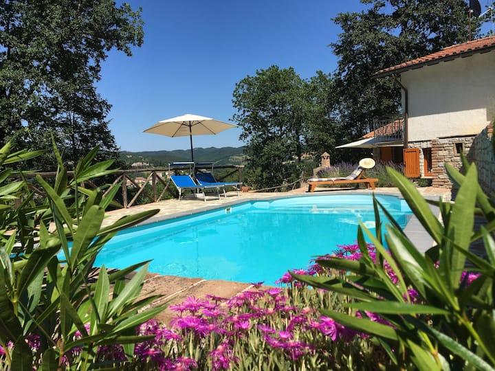 Casa Belvedere, vakantiehuis met prachtig uitzicht