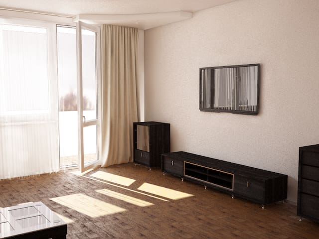 Luxury class 3 room flat with 3 sleeping places