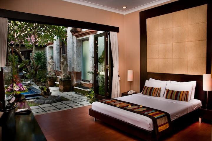 Excellence space with huge room and bathroom SANUR
