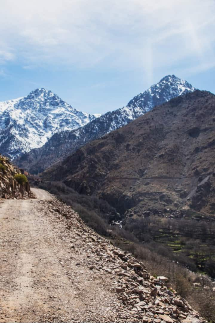View of Atlas Mountains