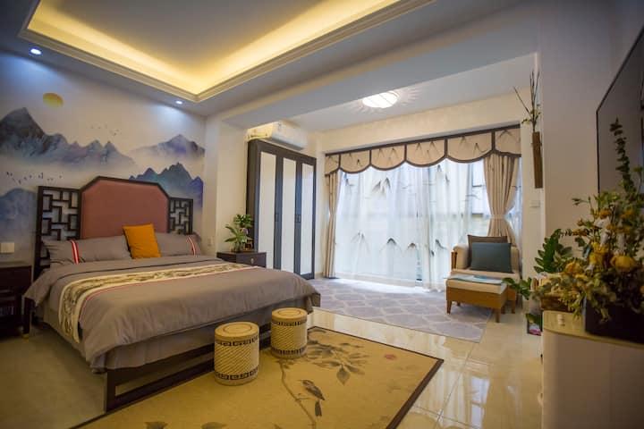 西海别院之新中式客房--忆巴山蜀水