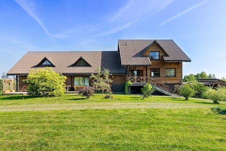Large House with Outdoor Activities and Large Hall