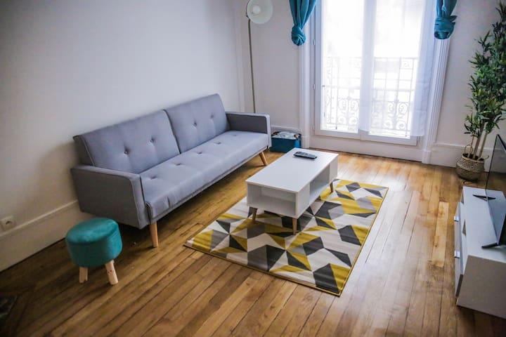 Magnifique appartement Enghien-Les-Bains