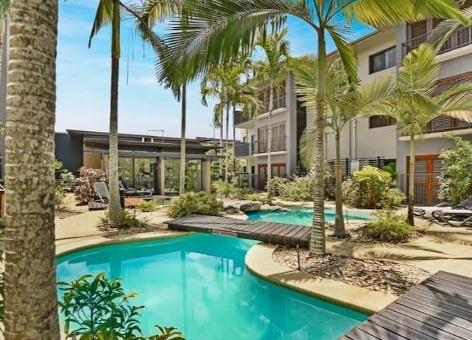 Resort Type Hotel Room in Center of Cairns
