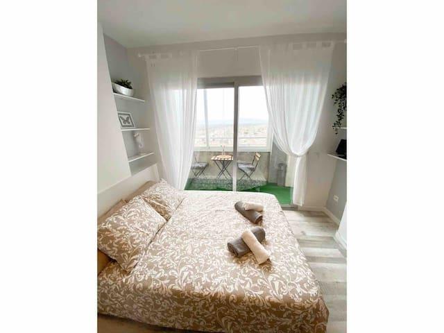 Apartamento con encanto en primera línea de mar.