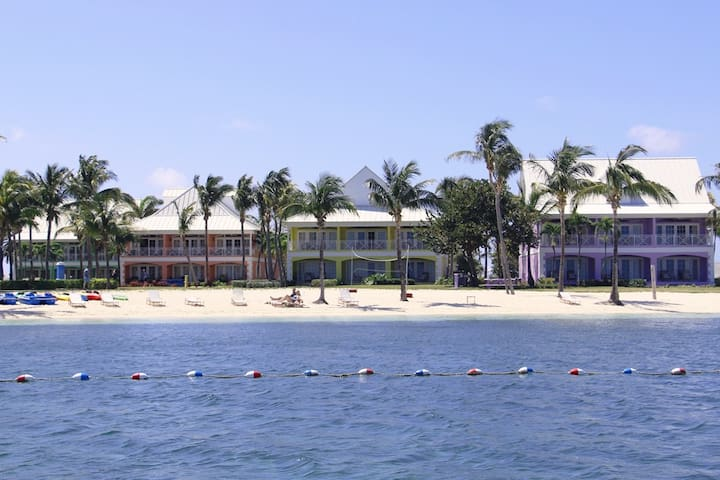 Oceanfront Old Bahama Bay Suite - West End - Condominium