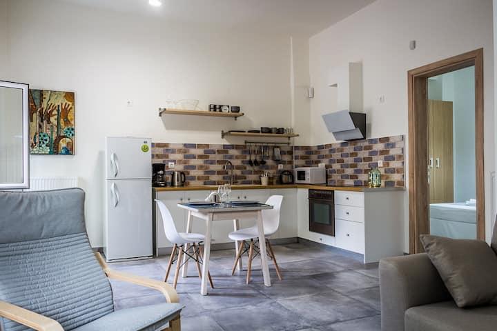 Modern apartment near port of Piraeus(Athens port)