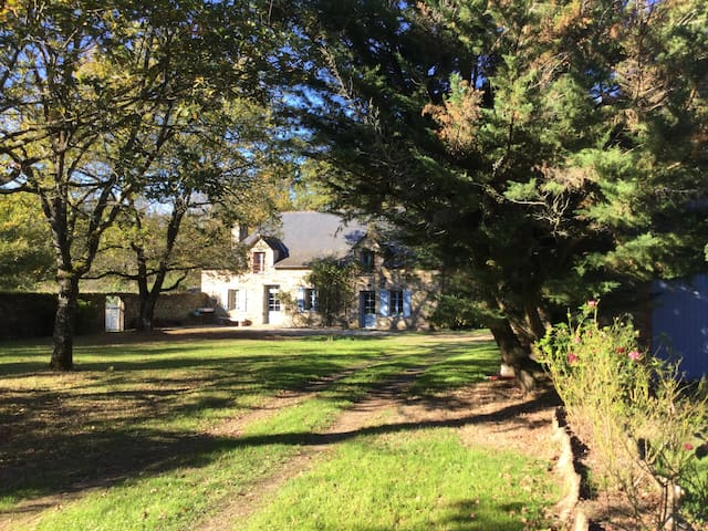 Bois de Roche, la maison du bonheur - Sainte-Anne-sur-Vilaine - House